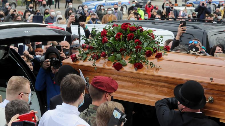 Uroczystości pogrzebowe Krzysztofa Krawczyka w Łodzi