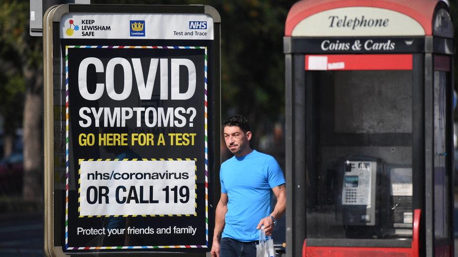 Koronawirus w Wielkiej Brytanii. Nowe dane brytyjskiego rządu