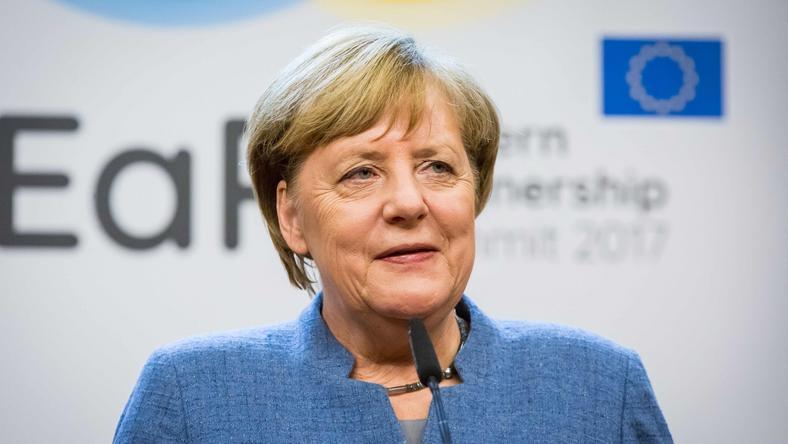 Angela Merkel, przewodnicząca CDU