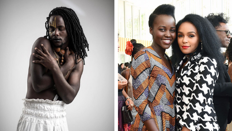 Junior Nyong'o inset Lupita Nyong'o and Janelle Monae (Courtesy)