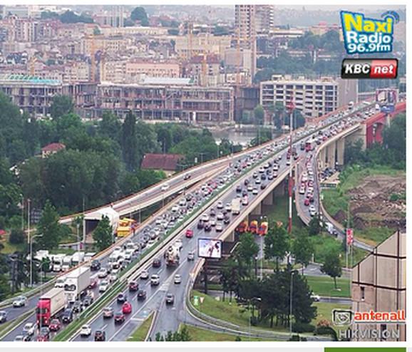 Veći intezitet saobraćaja i na mostu Gazela