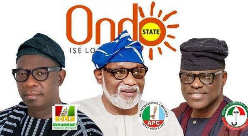 All the times PDP, APC and ZLP have attacked one another on Ondo election