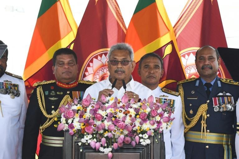 Rajapaksa was defence chief under his brother Mahinda's 2005-15 presidency