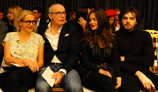 Milan Beko sa porodicom