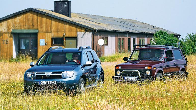 Dacia Duster kontra Łada Niva: Dwa tanie produkty terenowe