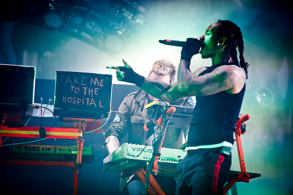 The Prodigy na Orange Warsaw Festival 2014