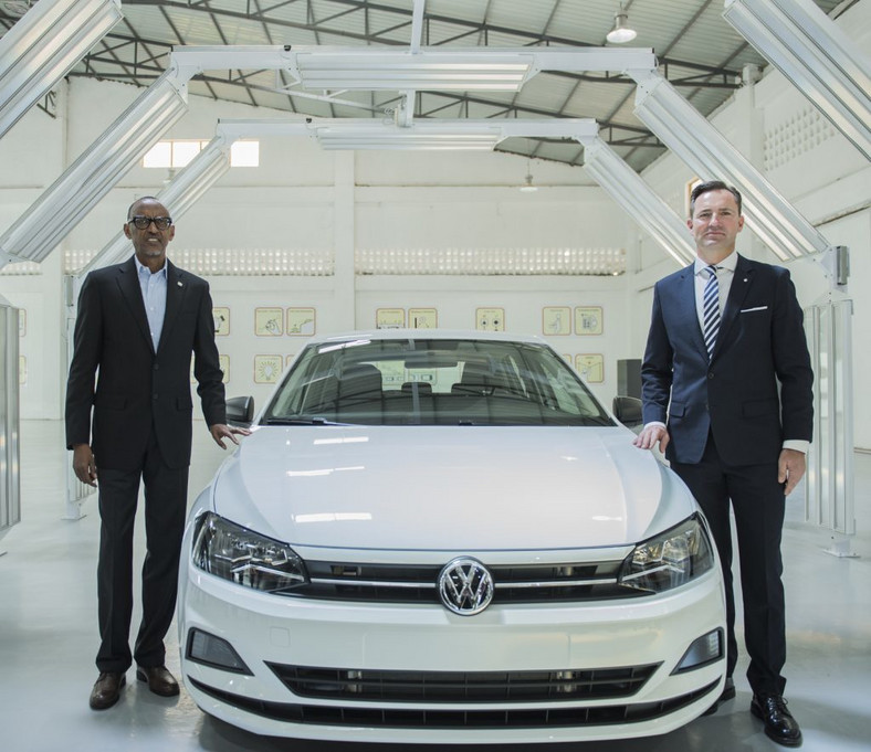 In 2018, the first made in Rwanda Volkswagen Polo also rolled out from Rwanda's new plant located at the country's Special Economic Zone