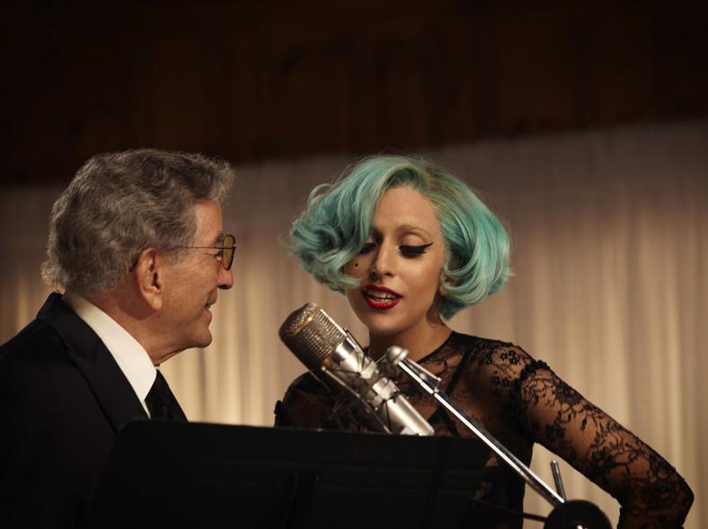 Lady GaGa śpiewa z Tonym Bennettem