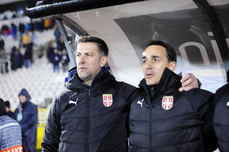 Mladen Krstajić, Milan Obradović