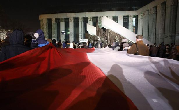 Łańcuch światła, demonstracja przed Sądem Najwyższym