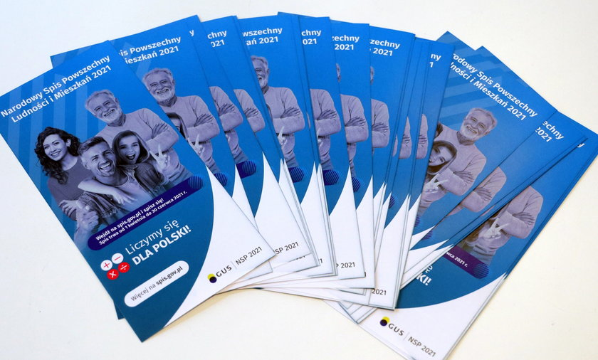Narodowy Spis Powszechny rozpoczął się  1 kwietnia.