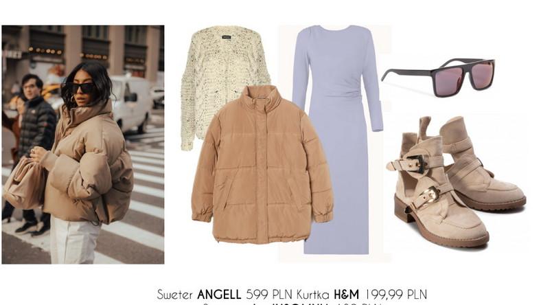STYLIZACJE z pikowaną kurtką na jesień i zimę 2020