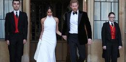 Druga suknia Meghan Markle była seksowniejsza. A na palcu... pierścień księżnej Diany