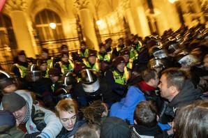 """OPTUŽBE BUDIMPEŠTE """"Među demonstrantima i osobe sa Soroševog platnog spiska"""""""