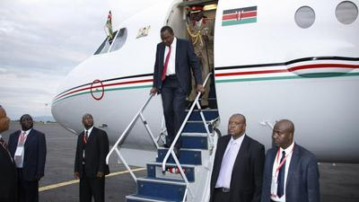 From flying Kenya's president to owning an executive airline-Captain Hussein Farrah