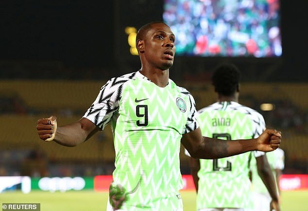 Nigerian striker Odion Ighalo wins AFCON 2019 Golden Boot