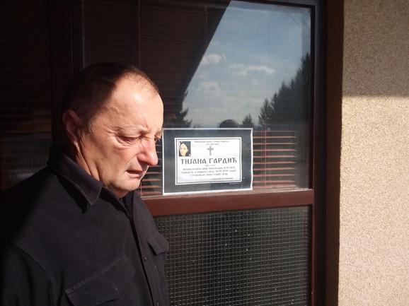 Ratko Gardić, neutešni otac