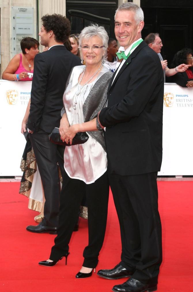 Džuli Volters sa suprugom