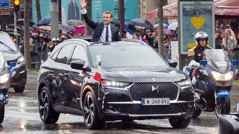 DS 7 Crossback prezydenta Francji