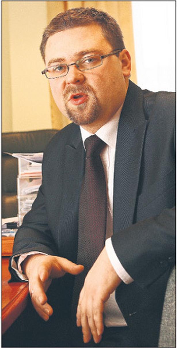 Paweł Pacek, zastępcą dyrektora departamentu rozwoju obszarów wiejskich w Ministerstwie Rolnictwa i Rozwoju Wsi Fot. Wojciech Górski