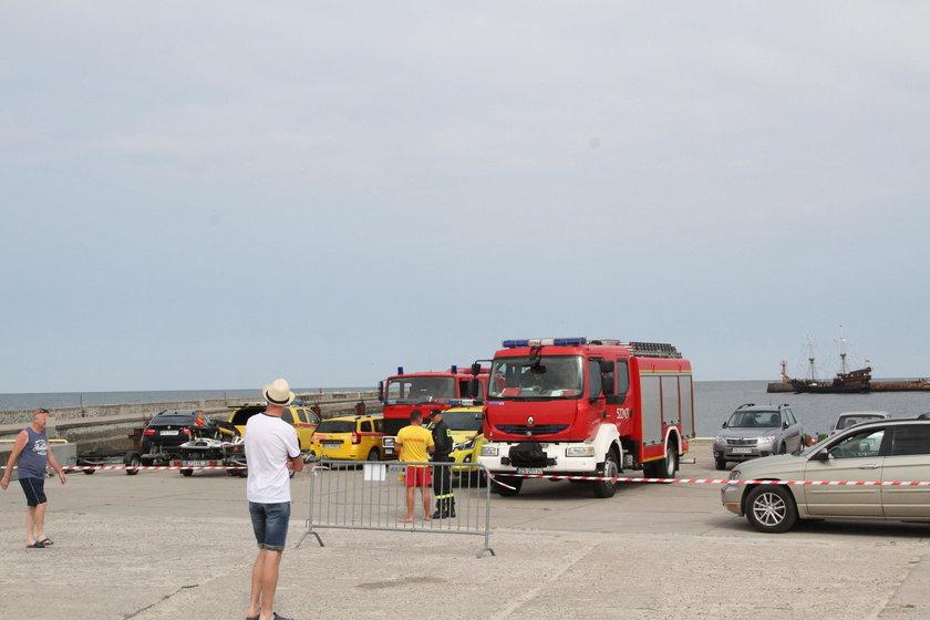 Akcja ratunkowa w Darłówku