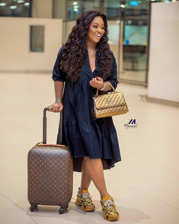 Jackie Appiah goes on vacation