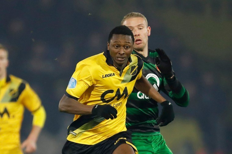 Sadiq Umar has a successful spell at NAC Breda