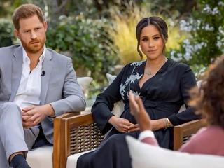 Meghan Markle and Harry Windsor  wywiad u Oprah Winfrey