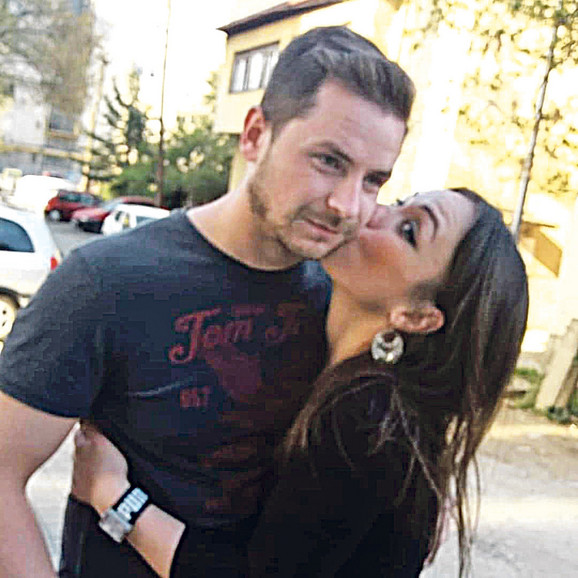 Biljana Jovanović sa bratom Slavčom Petrovim