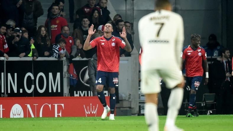 Paris Saint-Germain have to put their title party on hold after being thumped 5-1 at Lille