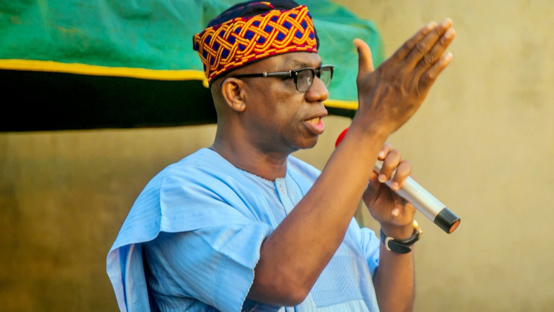 Governor Dapo Abiodun explained to journalists that Lafarge, the cement company visited by the first patient of Coronavirus in Nigeria was shut down to prevent the spread of disease. (PMNews)