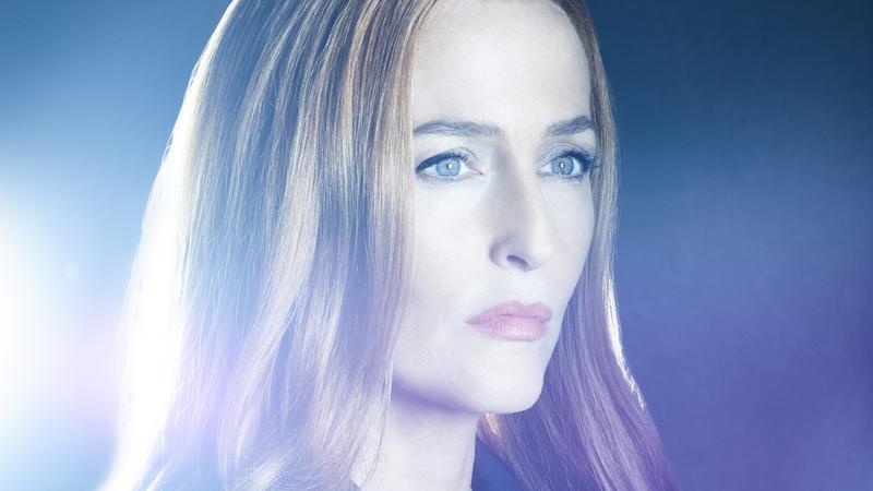 """Gillian Anderson w serialu """"Z archiwum X"""""""