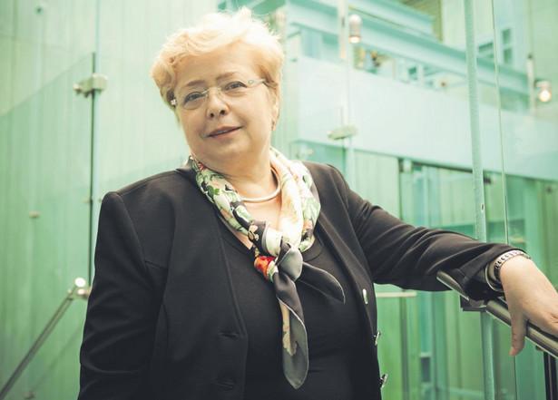 Prof. Małgorzata Gersdorf, sędzia Sądu Najwyższego orzekająca w Izbie Pracy, Ubezpieczeń Społecznych i Spraw Publicznych. / fot. Wojtek Górski
