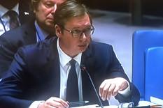 """""""UBIJATE ISTINU"""" Vučić u UN: Srbija mora da bude okrivljena, da bi se opravdala nečija POGREŠNA POLITIKA"""