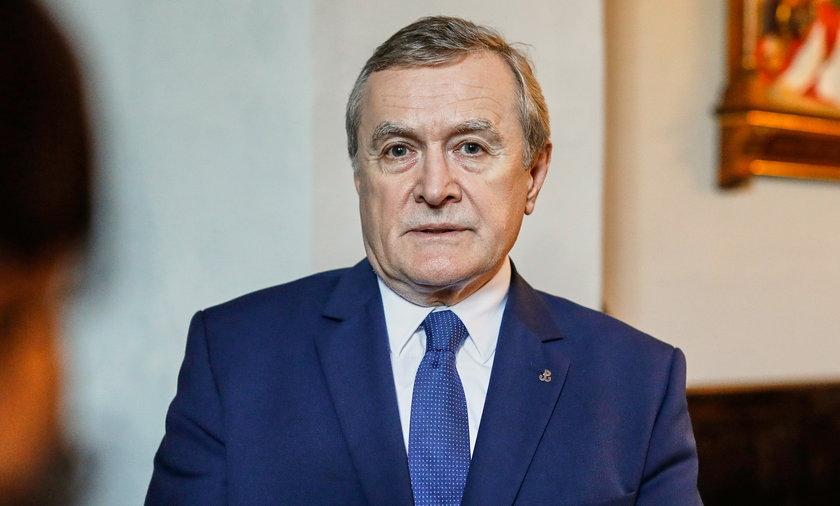 Minister kultury Piotr Gliński.