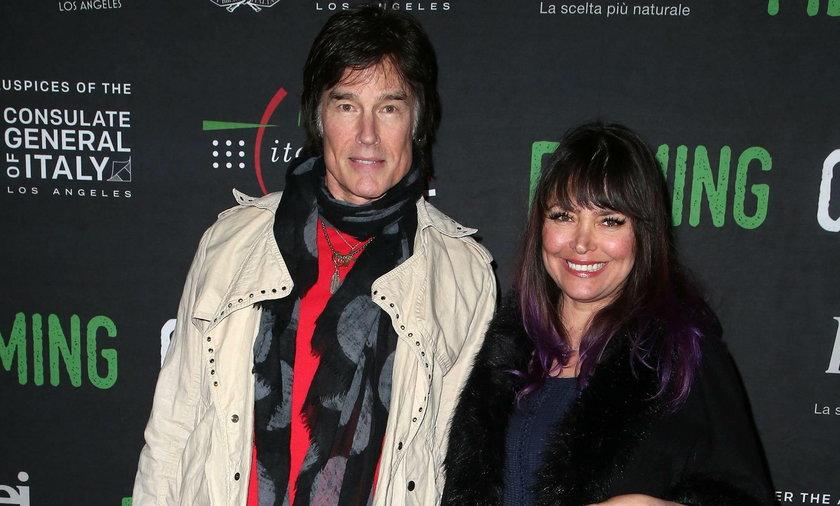 Ronn Moss z żoną