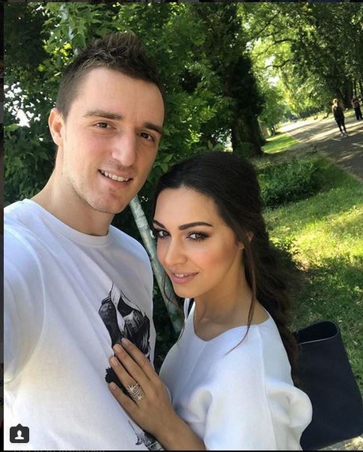 Ivana Maksimovic i Danilo Andjusic04 foto Instagram