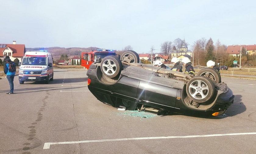 Wypadek w Dubiecku