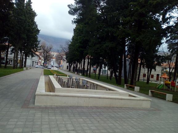 Oštećena i nova fontana u centru grada