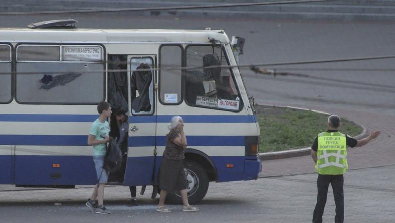 Ukraina. Zakładnicy w autobusie