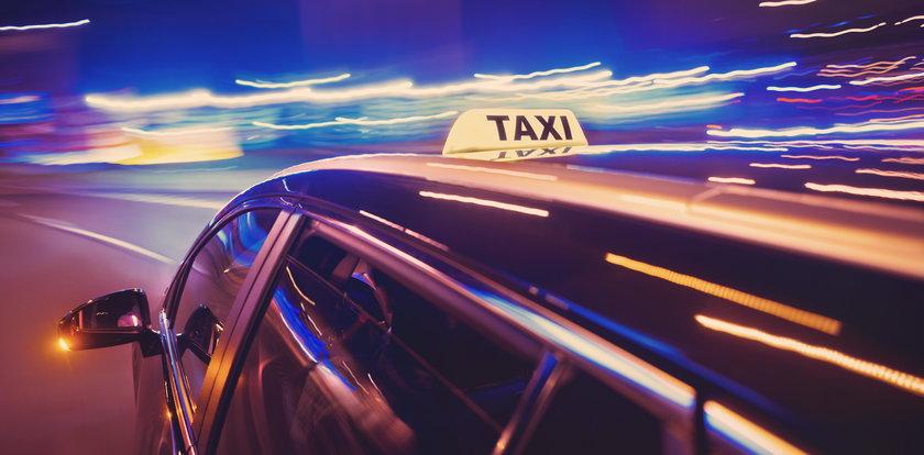 Śmierć w taksówce. Tragiczny wypadek