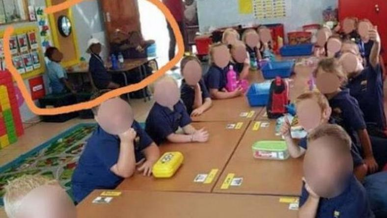 Pupils at South Africa's Laerskool Schweizer-Reneke were allegedly segregated by race [The Citizens]