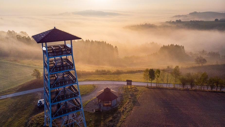Wieże widokowe w Polsce - widoki 360, lokalizacja, wysokość