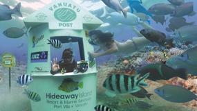 Podwodne skrzynki pocztowe - nietypowa atrakcja turystyczna