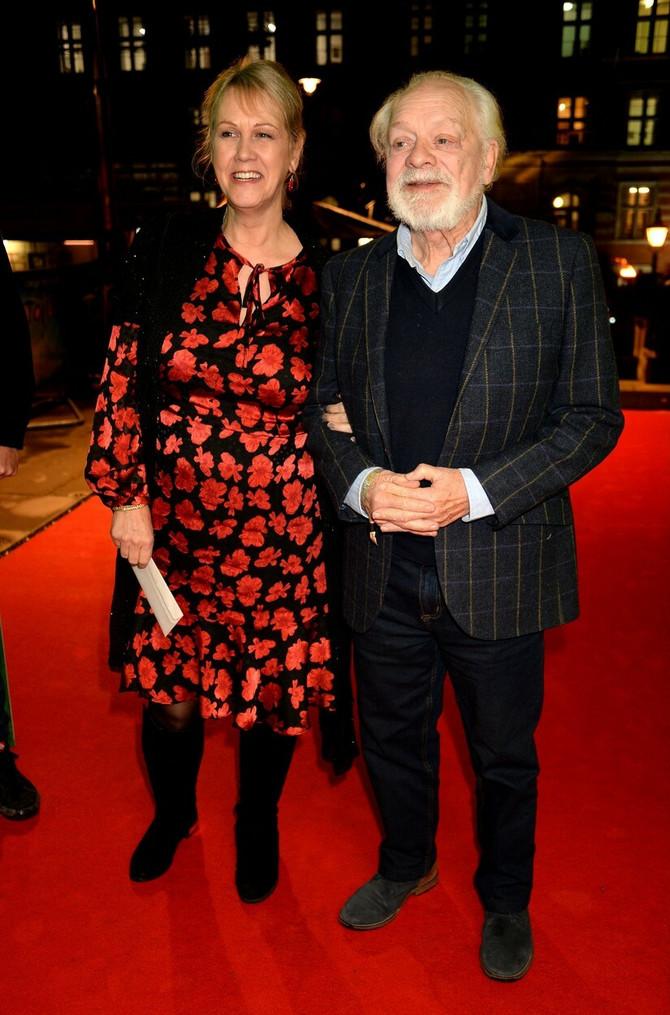 Dejvid Džejson sa suprugom