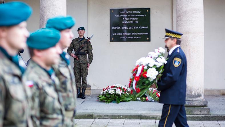 Poznań: odsłonięto tablicę upamiętniającą Polaków zamordowanych w sowieckiej Rosji