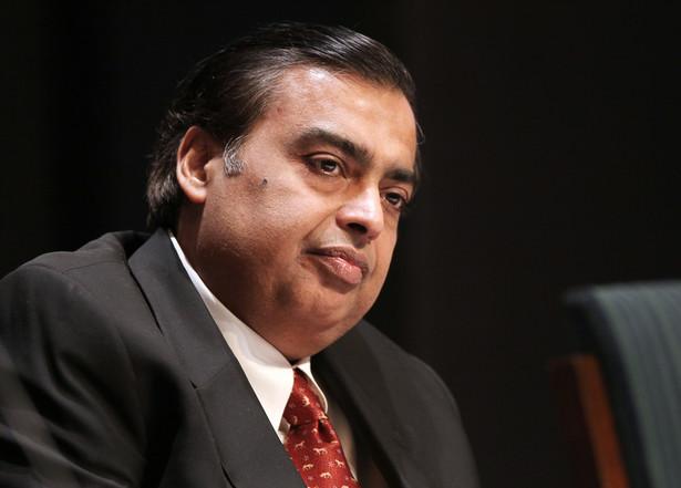 Mukesh Ambani, szef Reliance Industries