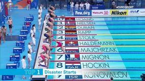 Najgorsze starty w wyścigach pływackich