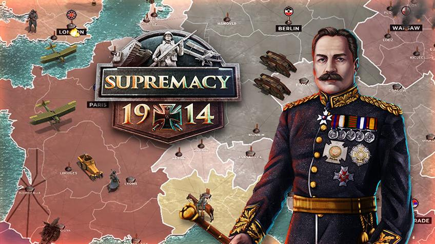 Supremacy 1914: The Great War - Artwork: Tytułowy