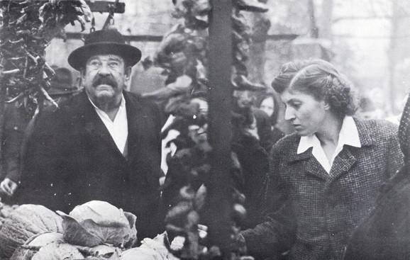Pavle Vuisić i Mirjana Karanović u filmu